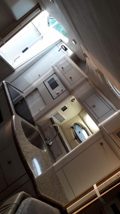Verhuur Motorboot Maxum met vaarbewijs