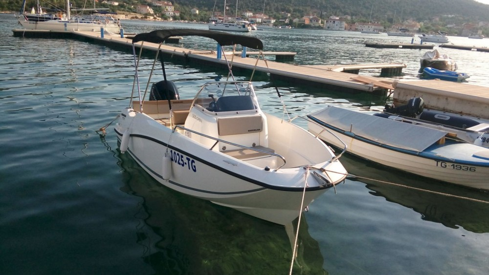 Jachthuur in Vinišće - Quicksilver Activ 505 Open via SamBoat