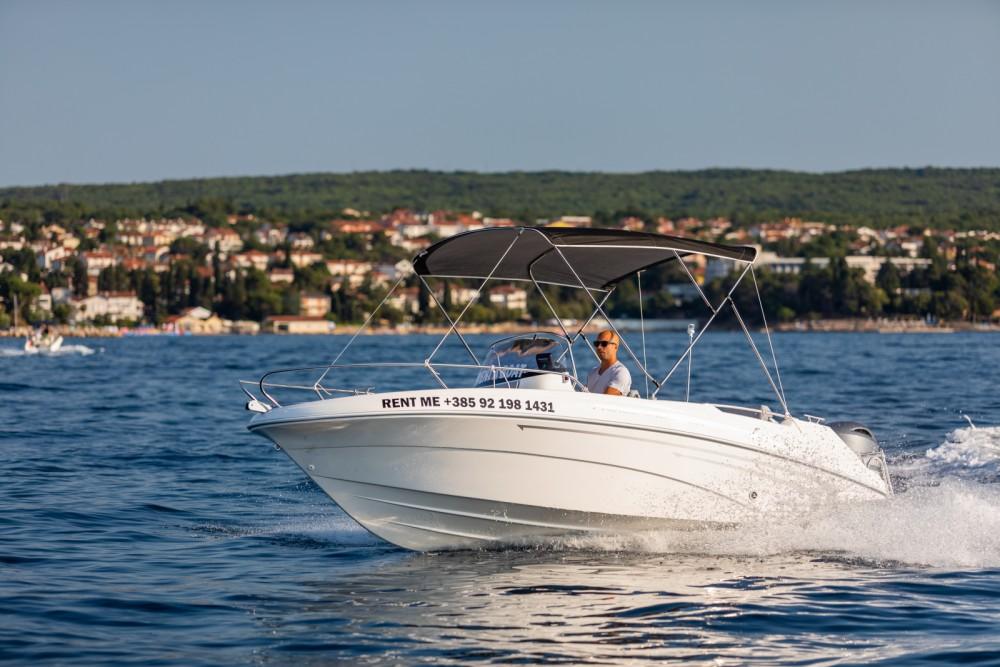 Verhuur Motorboot in Malinska - AM Yacht Prince 570 Open