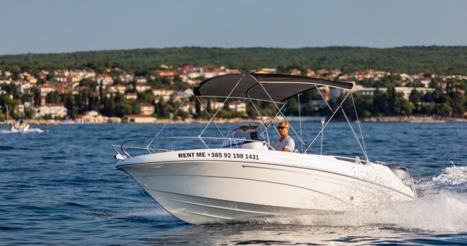 Huur een AM Yacht Prince 570 Open in Malinska-Dubašnica