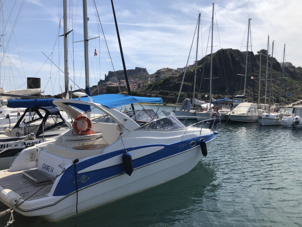 Verhuur Motorboot in Castheddu/Castelsardo - Rio Yachts Rio 32 ART