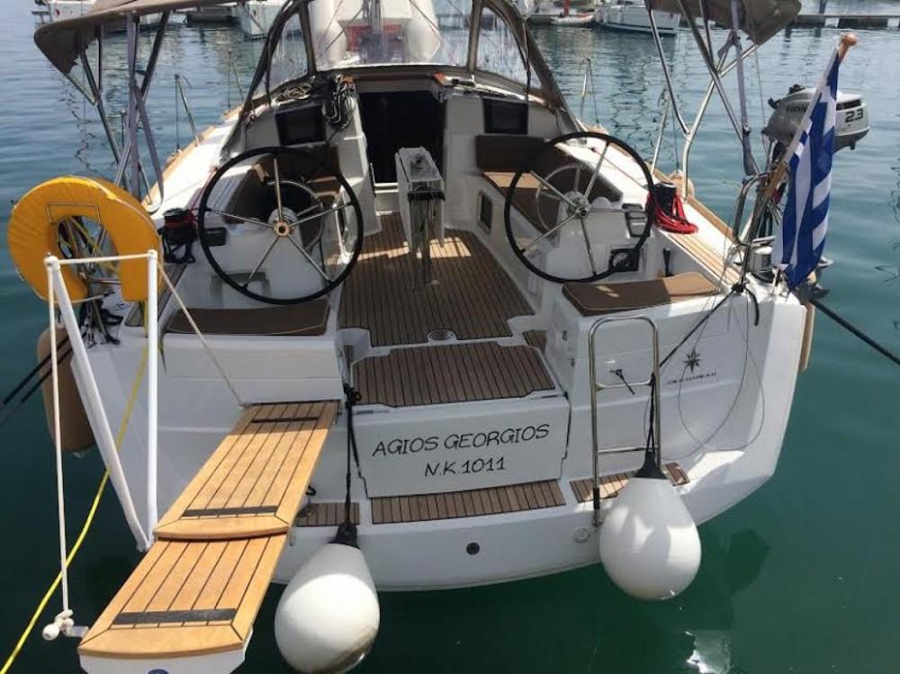 Jachthuur in Korfoe - Jeanneau Sun Odyssey 389 via SamBoat
