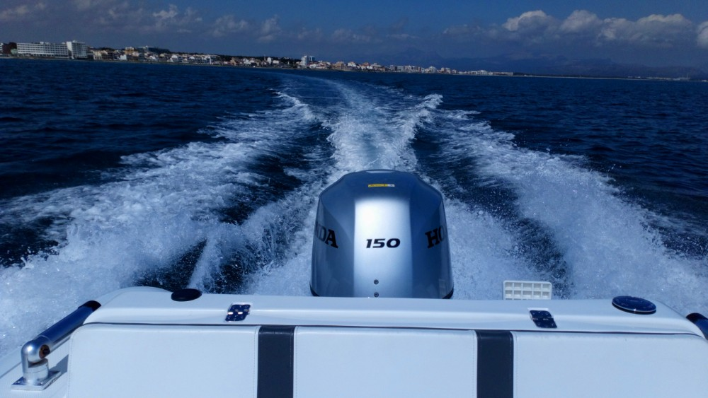 Jachthuur in Can Picafort - Ab-Marine oceanus 19 VST via SamBoat