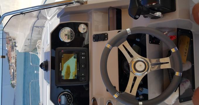 Verhuur Motorboot in Brela - Atlantic marine 750