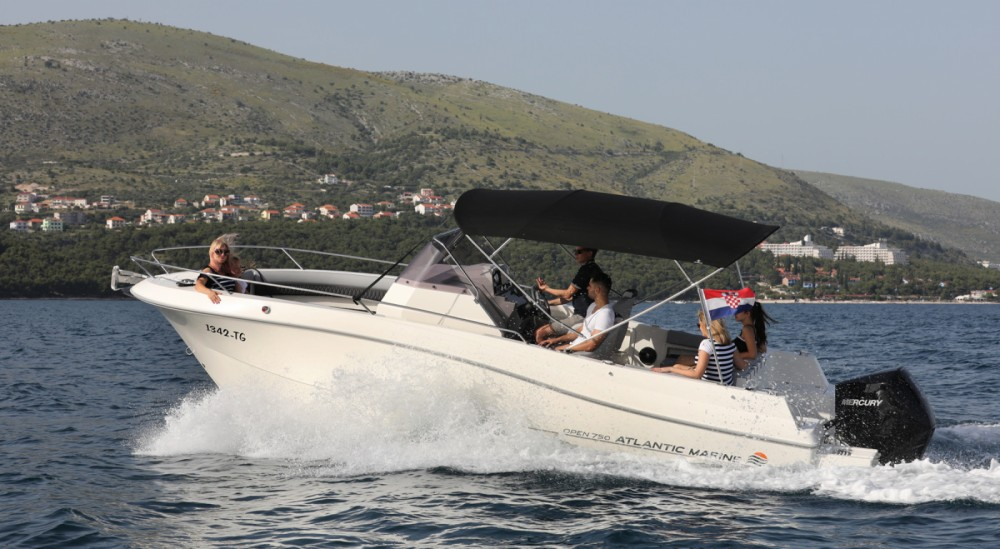 Verhuur Motorboot in Trogir - Atlantic atlantic 750