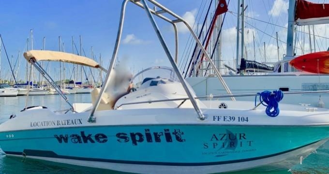 Motorboot te huur in Le Marin voor de beste prijs