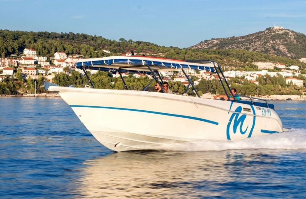 Huur Motorboot met of zonder schipper Enzo in Hvar