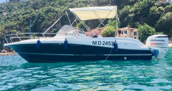 Bootverhuur Jeanneau Cap Camarat 715 WA in Mandelieu-la-Napoule via SamBoat