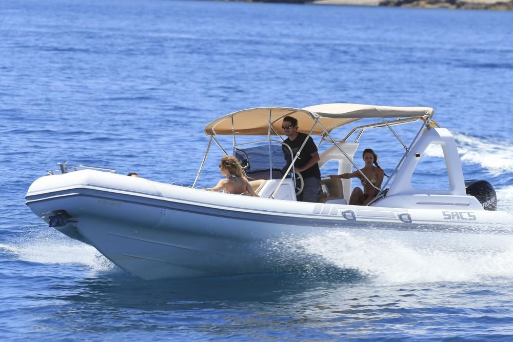 Verhuur Motorboot in Balearen - Sacs Sacs S 25 Dream