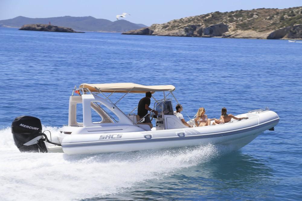 Huur Motorboot met of zonder schipper Sacs in Balearen