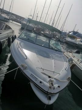 Verhuur Motorboot in Toulon - Four Winns Sundowner 235