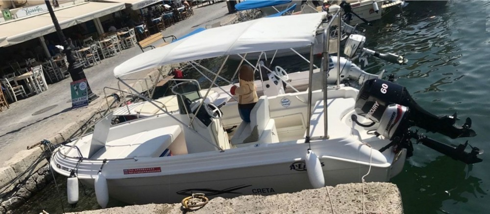 Huur Motorboot met of zonder schipper A ELLAS in Chania
