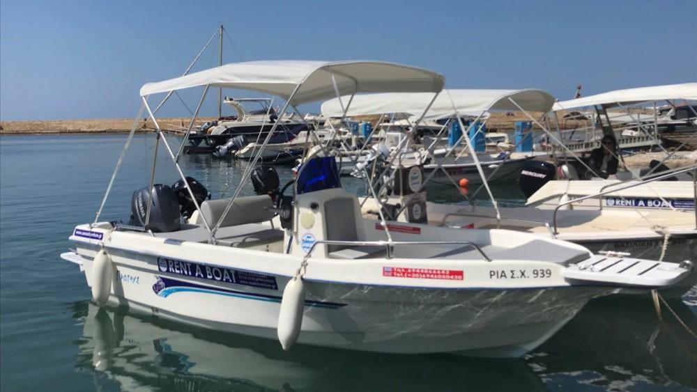 Huur Motorboot met of zonder schipper Proteus in Chania