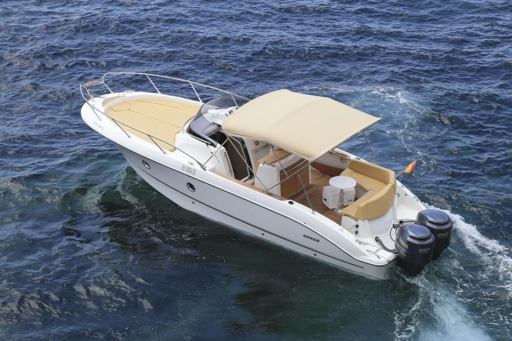 Huur een Sessa Marine Kay Large 30 in Balearen