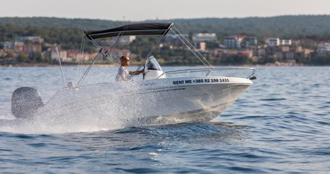 AM Yacht Prince 570 Open te huur van particulier of professional in Malinska-Dubašnica