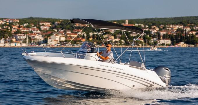 Verhuur Motorboot in Malinska-Dubašnica - AM Yacht Prince 570 Open