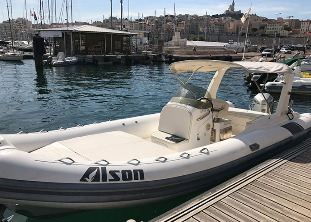 Jachthuur in Marseille - Alson Flash 750 via SamBoat