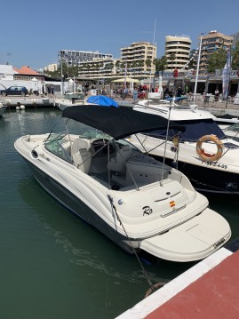 Verhuur Motorboot in Puerto Deportivo de Marbella - Sea Ray SUNDECK 240