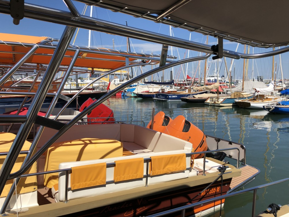 Verhuur Motorboot Beacher met vaarbewijs