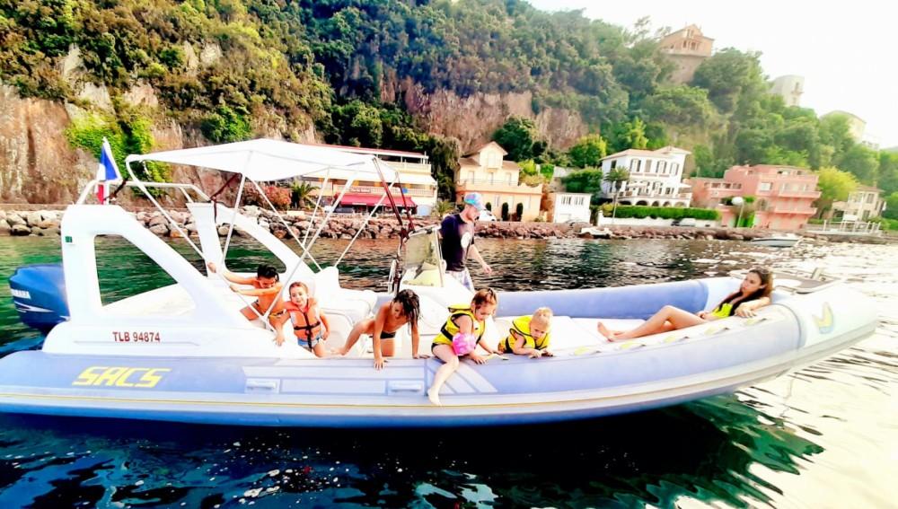 Huur Rubberboot met of zonder schipper Sacs in Mandelieu-la-Napoule