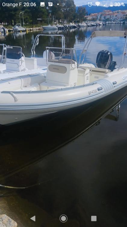 Huur Rubberboot met of zonder schipper Lomac in Saint-Florent