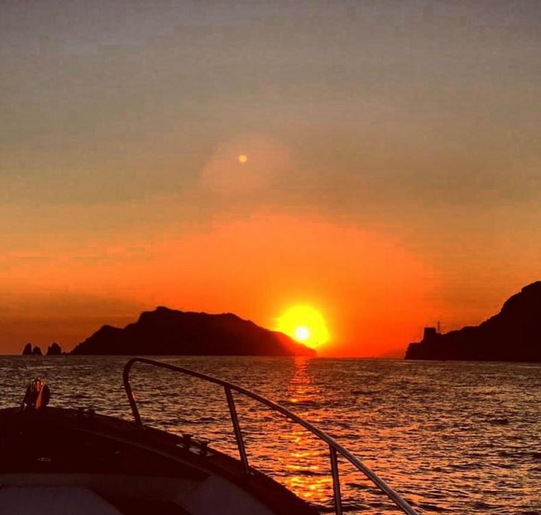 Verhuur Motorboot in Positano - Aprea mare 9 mt Aprea mare smeraldo 9
