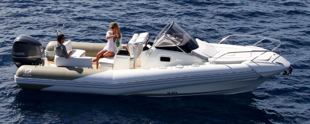 Verhuur Rubberboot Zodiac met vaarbewijs