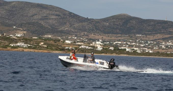Bootverhuur The Sailor's Ride 455 in Paros via SamBoat
