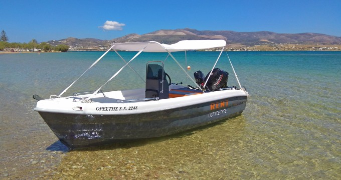 The Sailor's Ride 455 te huur van particulier of professional in Paros