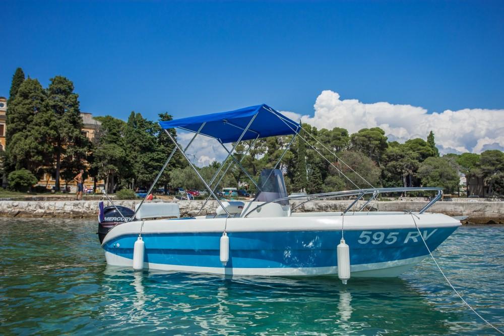 Verhuur Motorboot in Rovinj - Fisher 17