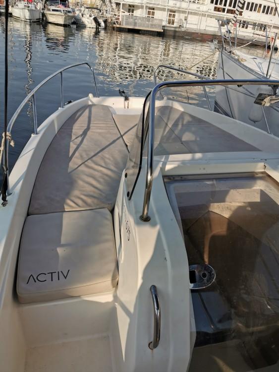 Verhuur Motorboot in Marseille - Quicksilver Activ 675 Sundeck