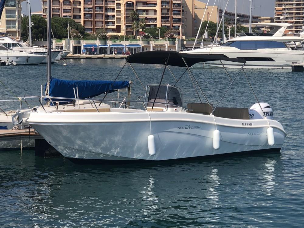 Verhuur Motorboot Allegra Boats met vaarbewijs