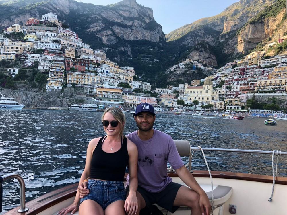 Bootverhuur Positano goedkoop Aprea mare 10 mt