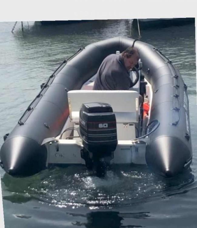 Verhuur Rubberboot in Saint-Tropez - Bombard Explorer 550