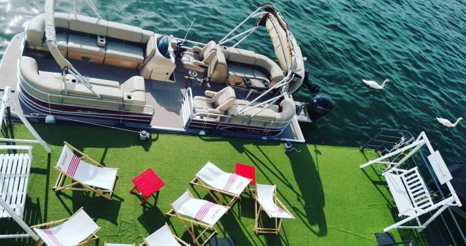 Verhuur Motorboot in Paris - Suntracker Party Barge 24