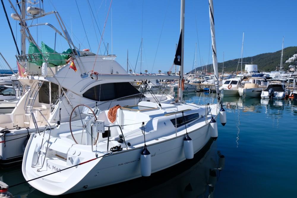 Jeanneau Sun Odyssey 21 I Legend te huur van particulier of professional in Santa Eulària des Riu