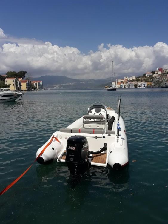 Rubberboot te huur in Μεγίστη voor de beste prijs