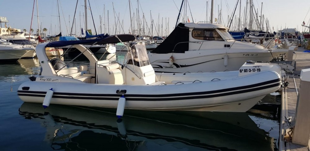 Huur een Nuova Jolly King 720 Extreme in Alicante