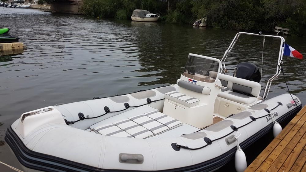 Huur Rubberboot met of zonder schipper Valiant in Saint-Florent