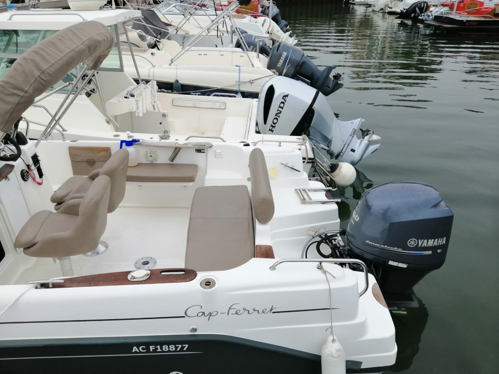 Verhuur Motorboot in Arcachon - B2 Marine Cap Ferret 675
