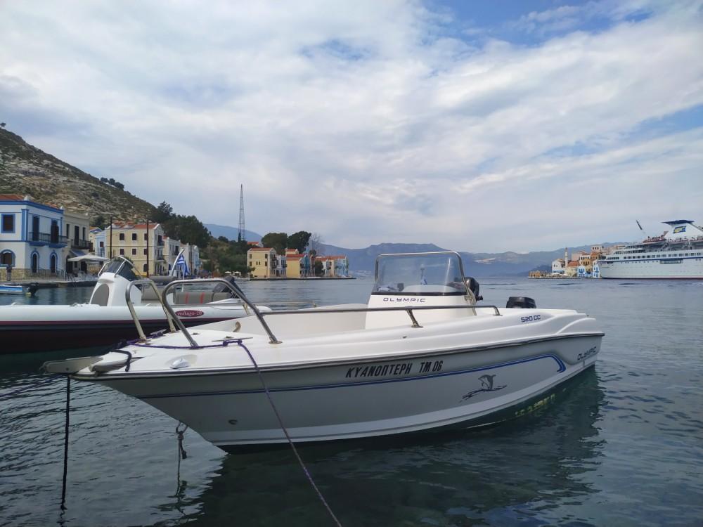 Verhuur Motorboot Olympic met vaarbewijs
