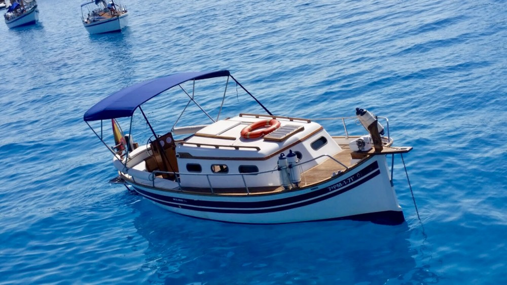 Huur een Majoni mitjorn in Formentera