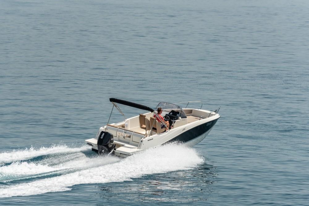 Verhuur Motorboot in Trogir - Quicksilver Activ 755 Open