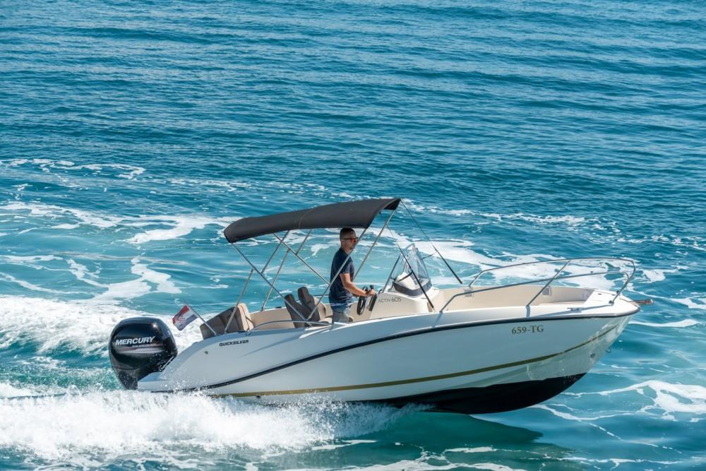 Quicksilver Activ 605 Open te huur van particulier of professional in Trogir