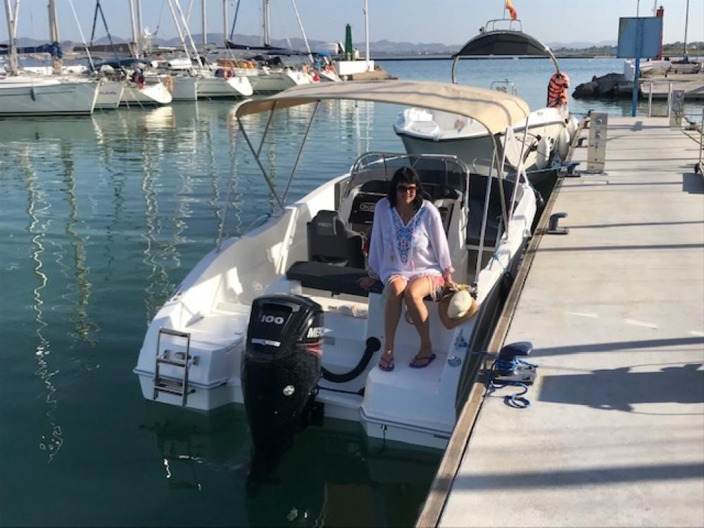 Oki Boats Barracuda 545 te huur van particulier of professional in Los Alcázares