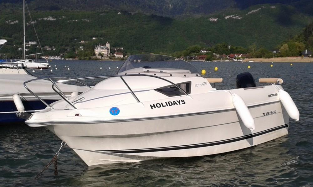 Huur Motorboot met of zonder schipper Quicksilver in Duingt