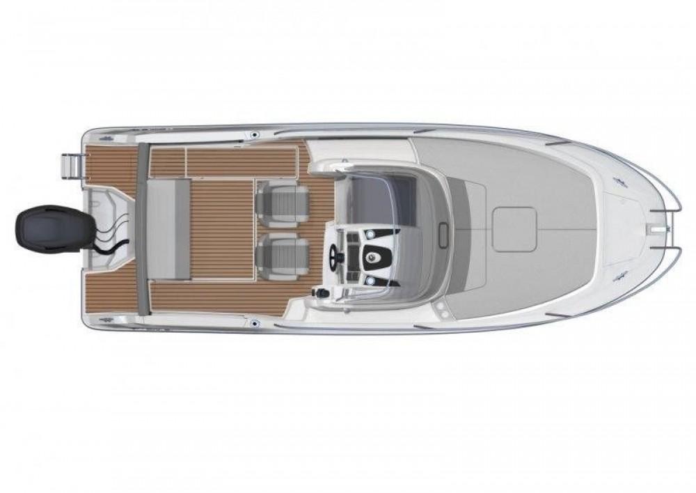 Bootverhuur Jeanneau Cap Camarat 7.5 WA Serie 2 in Tribunj via SamBoat