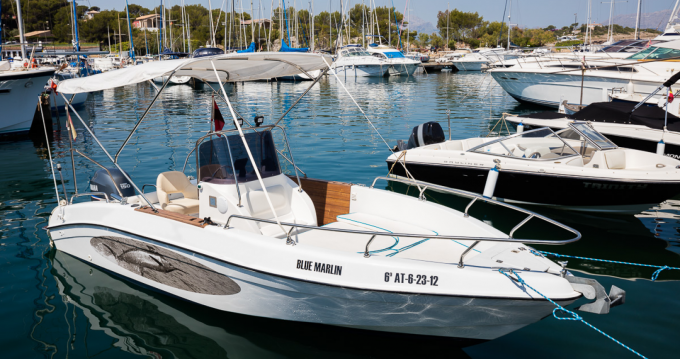 Bootverhuur Port de Pollença goedkoop sport fisch 21,50