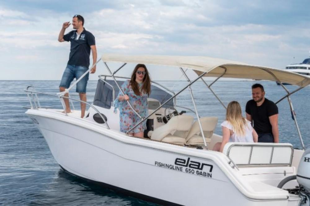 Huur Motorboot met of zonder schipper Elan in Zadar