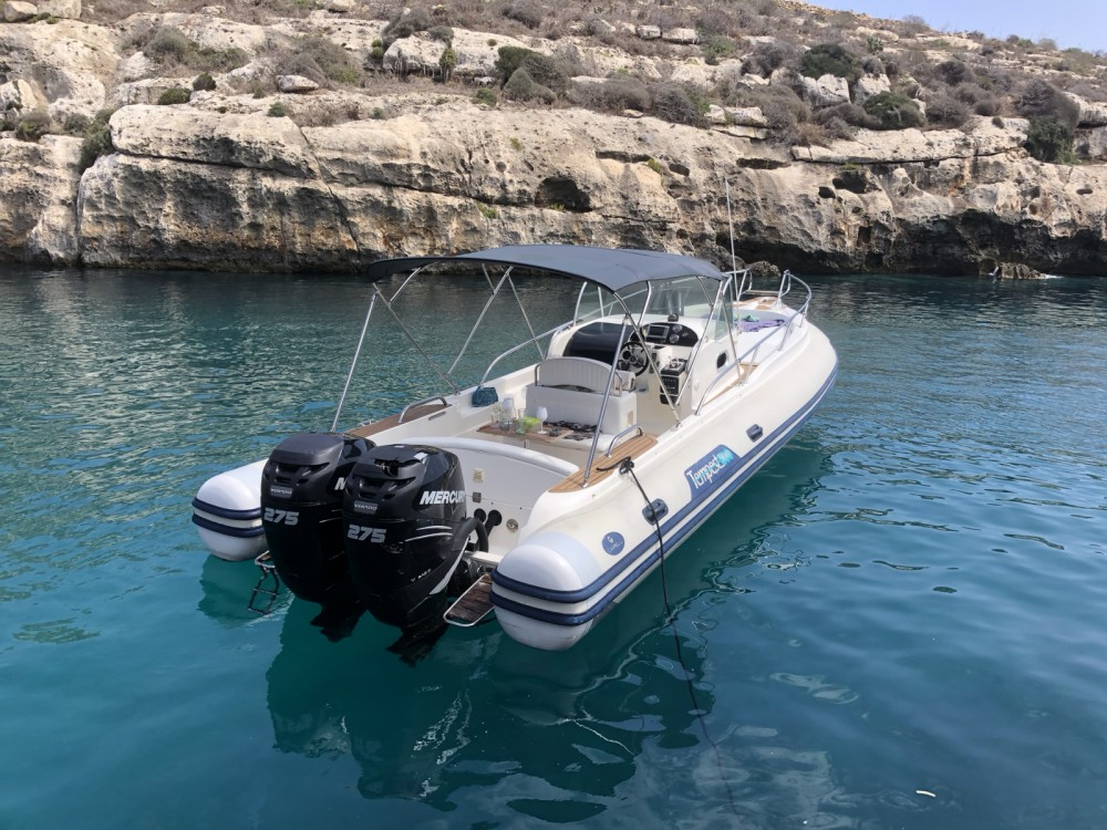 Bootverhuur Valletta goedkoop tempest 870